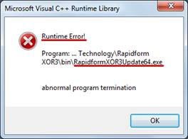 runtime error  - Indigo Rose Software Forums
